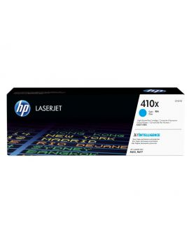 HP 410X Cyan High Yield Original Toner Cartridge (CF411X) in Box