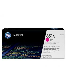HP 651A Magenta Original LaserJet Toner Cartridge (CE343A) in Box