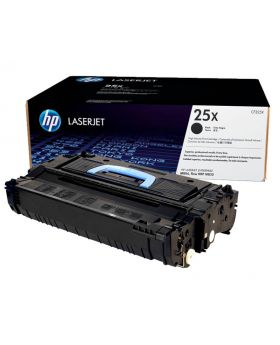 HP 25X High Yield Black Original LaserJet Toner Cartridge (CF325X) with Package