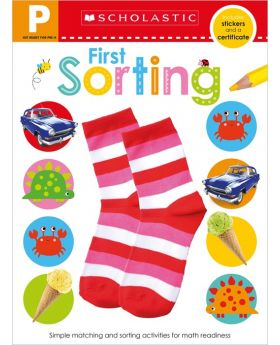 Scholastic Early Learners: First Sorting Pre-K Workbook