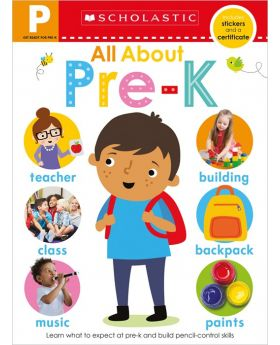 Scholastic Early Learners: All About Pre-K Workbook