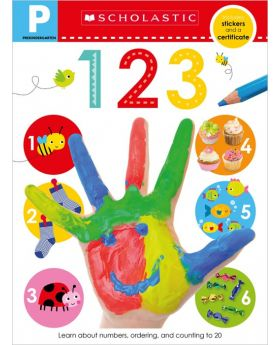 Scholastic Early Learners: 123 Pre-K Workbook