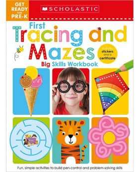 Scholastic Early Learners: First Tracing and Mazes Pre-K Big Skills Workbook