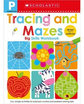 Scholastic Early Learners: Tracing and Mazes Pre-K Big Skills Workbook