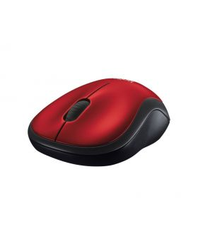 Logitech M185 Compact Red Wireless Mouse