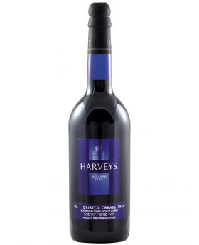 Harveys Bristol Cream Sherry 12 x 1 Litre