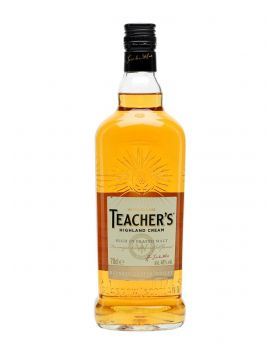 Teacher's Highland Cream Blended Scotch Whisky 750 ml