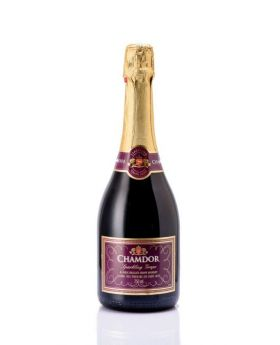 Chamdor Sparkling Grape Red Wine 750 ml
