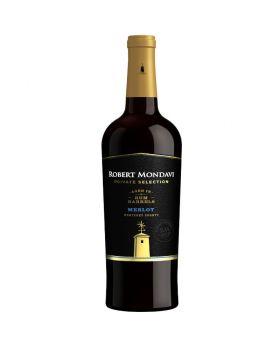 Robert Mondavi Private Selection Rum Barrel Merlot Red Wine 750 ml