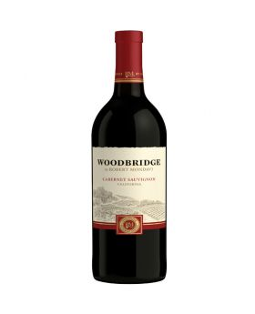 Woodbridge Cabernet Sauvignon by Robert Mondavi Red Wine 12 x 750 ml