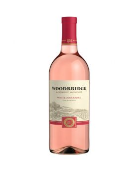 Woodbridge White Zinfandel by Robert Mondavi Rose Wine 12 x 750 ml
