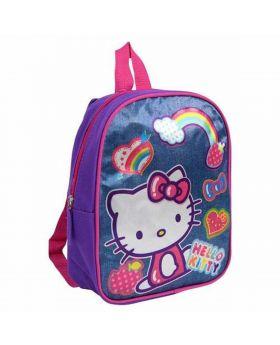 Hello Kitty 10″ Mini Backpack Rainbow
