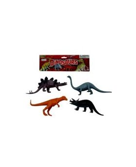 Dinosaur Play Set, 4 Pack
