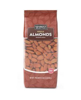 Member's Selection Whole Almonds 907g/2 lbs