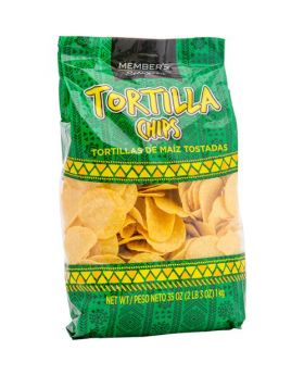 Member's Selection Tortilla Chips 1 kg/2 lbs