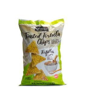 Member's Selection Toasted Tortilla Chips with Chia, Quinoa and Sea Salt 800 g/1.76 lbs