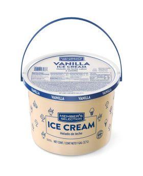 Member's Selection Vanilla Ice Cream 1 Gallon/3.7 Litre