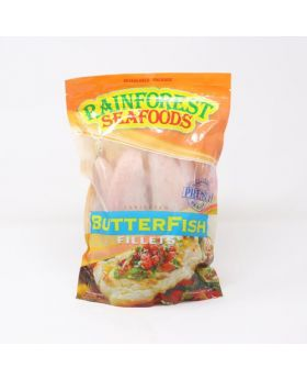 Rainforest Seafoods Frozen Butterfish Fillet 908 g/2 lbs