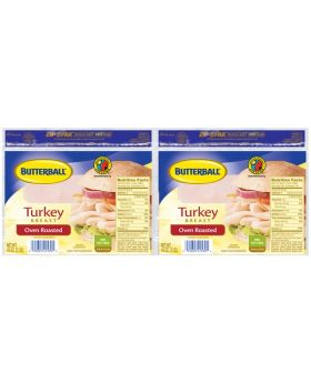 Butterball Turkey Breast Oven Roasted 2 Pack 454 g/1 lb