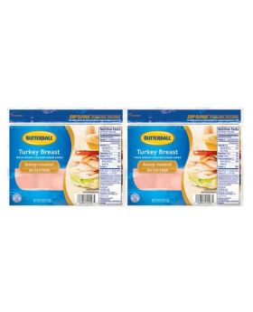 Butterball Turkey Breast Honey Roasted 2 Pack 454 g/1 lb
