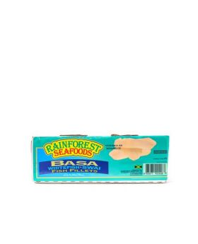 Rainforest Seafoods Frozen Basa Fillet 4.54 Kg/10 lbs