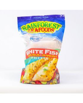 Rainforest Seafoods Frozen White Fish Basa Swai Fillets 908 g/2 lbs
