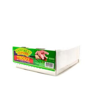 Rainforest Seafoods Frozen Gourmet Trout Sliced Fish 4.5 kg/10 lbs