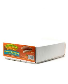 Rainforest Seafoods Frozen Butterfish Fillet 4.54 Kg/10 lbs