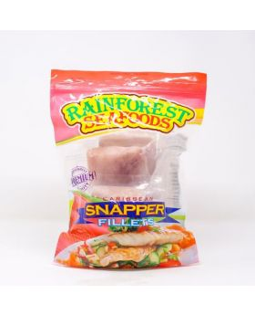 Rainforest Seafoods Frozen Caribbean Snapper Fillet 908 g/2 lbs