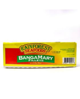 Rainforest Seafoods Frozen Banga Mary Fillet, Case 4.5 kg/10 lbs