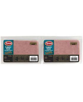 Tyson Turkey Ham 2 Pack 340 g/0.75 lb