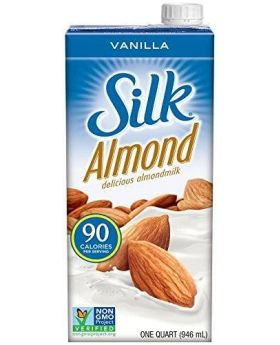 Silk Pure Almond Vanilla 32-Ounce