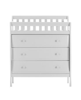 Wonder Baby Changing Table & Dresser White