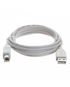 6 FT High Speed USB 2.0 A To B Printer Scanner Cable  coiled