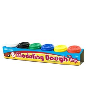 Bazic Products 6 Modeling Dough for Ages 3+