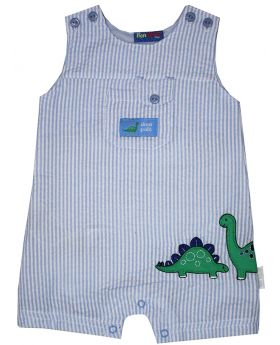 Newborn Dino Pals Rompers (Boys)
