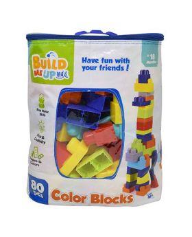 Build Me Up Blocks 80 Pc Set In Bag