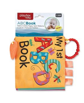 Playtex Baby ABC Book & Teether