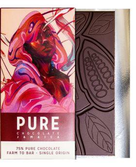 PURE 75% dark chocolate 3.5 oz/100 grams each