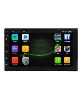 7 inch Android Double DIN Touch Screen Car MP5 Player with built-in GPS