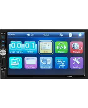 "7"" Double DIN Touch Screen Car MP5 Player With Built In Bluetooth"