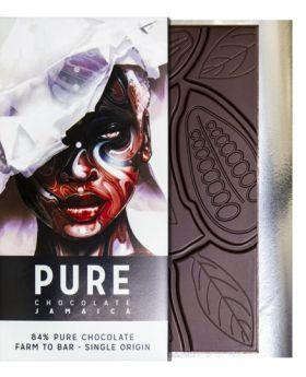 Pure Chocolate Jamaica 84% Pure Chocolate Farm to Bar Single Origin