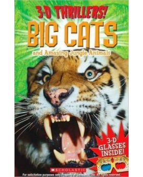 3-D Thrillers: Big Cats And Ferocious Jungle Animals