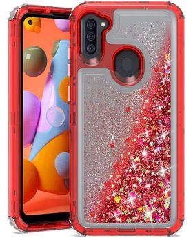 A11 Encase Glitter Liquid Cellphone Case