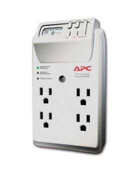 APC Power-Saving Timer Essential SurgeArrest 4 Outlet Wall