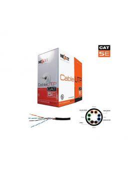Nexxt Cable UTP Cat5e Exterior - Negro