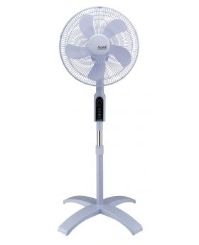 "Accutek 16"" Adjustable Oval Oscillating Stand Fan"