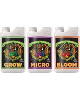 Advanced Nutrients Bloom, Micro & Grow, Pack of 3, 1 Litre Each