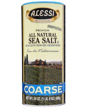 Alessi Coarse Sea Salt 2pk/24oz
