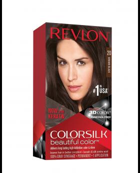 Revlon Colorsilk Beautiful Color, Permanent Hair Dye Brown/Brown - 3 Pack